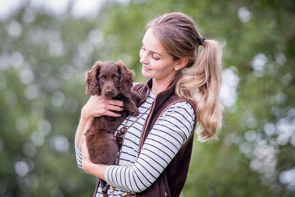 Menneske og hund